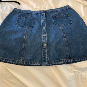 BDG Urban Outfitters Jean Mini Skirt